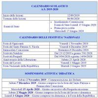 Calendarioscolastico